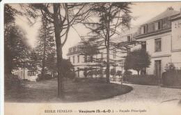 VAUJOURS  Ecole Fénélon Façade Principale - Schools