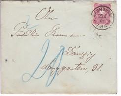 Brief Warmbrunn 25.5.1881 Nach Danzig, Nachgebühr - Danzig