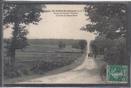 Carte Postale 35. Saint-Aubin-du-Cormier  Rue De Gosné à Mézières   Très Beau Plan - France