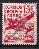 Bolivia 1950 - Airmail Stamps - The 25th Anniversary Of The Lloyd Aereo Boliviano - Bolivia