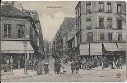 PARIS 75020  TOUT PARIS  937 LA RUE RAMPONNEAUX XX EM EDIT 4 C DANS TRÈFLE JCT&DG - France
