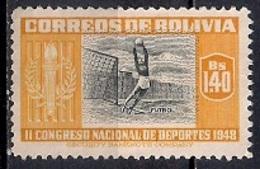 Bolivia 1951 - Airmail - Sports - Bolivia