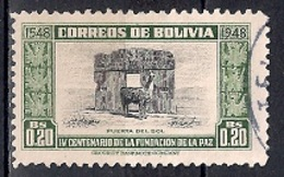 Bolivia 1951 - The 400th Anniversary Of The Founding Of La Paz - Bolivia