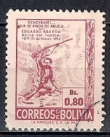 Bolivia 1952 - The 73rd Anniversary Of The Death Of Abaroa, Patriot - Bolivia