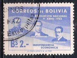 Bolivia 1953 - The 1st Anniversary Of The Revolution Of April 9th, 1952 - Bolivia
