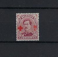 N°155 MNH ** POSTFRIS ZONDER SCHARNIER COB € 100,00 SUPERBE - 1918 Croix-Rouge