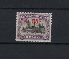 N°157 MNH ** POSTFRIS ZONDER SCHARNIER COB € 85,00 SUPERBE - 1918 Croix-Rouge