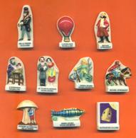 Série Complète De 10 Feves Les Contes De Jules Verne - Geschiedenis