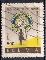 Bolivia 1960 - Founding Of Children's Hospital By La Paz Rotary Club - Bolivia
