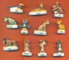 Série Complète De 11 Feves Mat Le Roi Lion - Disney