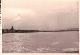 PHOTO 76 QUILLEBEUF La SEINE Et Au Fond Le Pont De TANCARVILLE - France