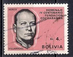 Bolivia 1968 - Airmail - The 400th Anniversary Of The Cochabamba, President G. Villarroel - Bolivia