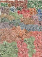 Grande-Bretagne - Vrac De Timbres à L'effigie De George V (85 Grammes) - Timbres