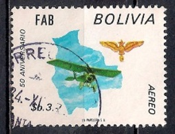 Bolivia 1974 - Airmail Stamps - The 50th Anniversary Of The Bolivian Air Force - Bolivia