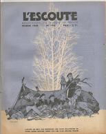 L ESCOUTE , ASSOCIATION DES SCOUTS DE FRANCE , N0 192 DE FEVRIER 1944 - Scoutisme