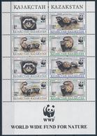 Mi 154-57 Small Sheet WWF World Wildlife Fund / Marbled Polecat Vormela Peregusna - Kazakhstan