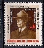 Bolivia 1982 - The Boy Scout Movement - Bolivia