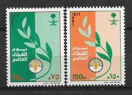 SAUDI ARABIA 1991 STAMPS SET MNH - Saudi Arabia