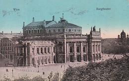 AK Wien - Burgtheater - 1912  (37751) - Ringstrasse