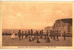 CPA N°23903 - SANATORIUM MARIN DES GRANDES DALLES - LES JEUX - Frankreich