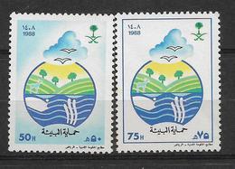 SAUDI ARABIA 1988 STAMPS SET MNH - Saudi Arabia