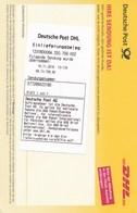 BRD Deutsche Post DHL Einlieferungsbeleg (Abholung Zu Hause) Paket 2018 - BRD