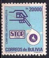 Bolivia 1985 - Anti-polio Campaign - Bolivia