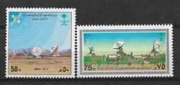 SAUDI ARABIA 1987 STAMPS SET MNH - Saudi Arabia