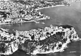 En Avion Sur La Principauté De Monaco-  Le Rocher, Le Port Et Monte-Carlo - Pilote-opérateur R. Henrard - Monaco