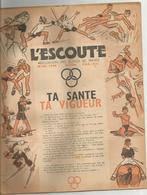 L ESCOUTE , ASSOCIATION DES SCOUTS DE FRANCE , N0 1944 DE MARS  1944 - Scoutisme