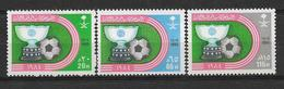 SAUDI ARABIA 1985 STAMPS SET MNH FOOTBALL - Saudi Arabia