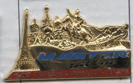 Pin's Rallye Automobile Paris - Moscou - Oulan-Bator - Pékin - Rallye