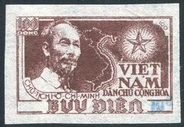 NORD VIETNAM 1954  YT N° 80H (*)  Mi# 18a MNG  (surcharge Bleu) - Vietnam