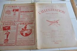L'ILLUSTRATION 27 JANVIER 1917-TABLEAU D'HONNEUR-AQUARELLE-ROUMANIE - SERBIE - HONGRIE - ATHENES - GUERRE AFRICAINE - Newspapers