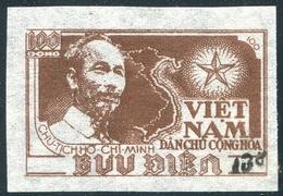 NORD VIETNAM 1954  YT N° 80H (*)  Mi# 18b MNG  (surcharge Noire) - Vietnam
