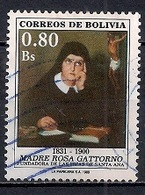 Bolivia 1988 - The 88th Anniversary Of The Death Of Mother Rosa Gattorno, Founder Of The Daughters Of Saint Anne - Bolivia