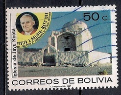 Bolivia 1988 - Visit Of Pope John Paul II - Bolivia
