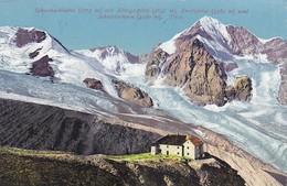 AK Schaubachhütte Mit Königsspitze, Kreilspitze Und Schrötterhorn - Stempel Schaubachhütte D.Oe.A.V. - 1913 (37754) - Italien