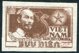 NORD VIETNAM 1954  YT N° 80H (*)  Mi# 18c MNG  (surcharge Rouge) - Vietnam