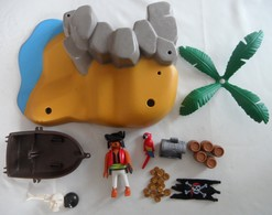 Lot De Pièces Diverses Playmobil 4139 Superset île Aux Pirates - Playmobil