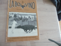 Revue La Bovino Camargue Course Camarguaise Taureaux N°8 - Sport