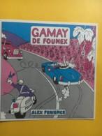 9058 - Gamay De Founex Alex Perience Suisse Alcool Au Volant Moto De Police - Humour