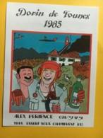 9059 - Dorin De Founex Alex Perience Suisse Alcool Et Aviation... - Humour