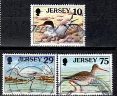 GBJ+ Jersey 1997 1999 Mi 766 771 899 Vögel - Jersey