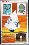 Aviation - Zeppelin - Aircraft - Space - Bolivia 1983 - MINT Sheet (Cat. +50€) - Bolivia