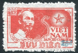 NORD VIETNAM 1954  YT N° 80M (*)  (Surcharge Bleu) - Viêt-Nam
