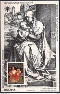 Dürer Albrecht - Engraving - Bolivia 1979 - MINT Sheet (Cat. +50€) - Only 5.000 Copies - Bolivia