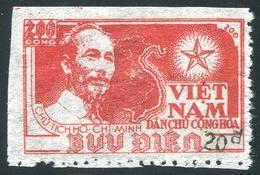 NORD VIETNAM 1954  YT N° 80M (*)  (Surcharge Noire) - Vietnam
