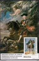 Rubens - Painting - Art - Bolivia 1982 - MINT Sheet (Cat. +50€) - Bolivia