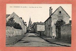 CPA - OISSERY (77) - Aspect De L'entrée Du Bourg Dans Les Années 20 - France